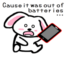 TAREMMY of lop-eared rabbit Excuses!! sticker #8949188