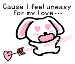 TAREMMY of lop-eared rabbit Excuses!! sticker #8949192