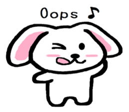 TAREMMY of lop-eared rabbit Excuses!! sticker #8949200