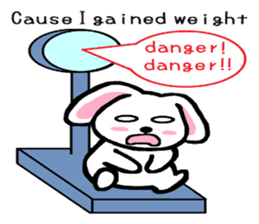 TAREMMY of lop-eared rabbit Excuses!! sticker #8949218