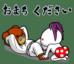 A little Karate fighter,Bear's Akkun sticker #8952437