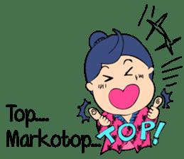 Mbokayu Ngapak-Original Barlingmascakeb sticker #8954344