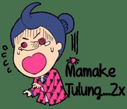 Mbokayu Ngapak-Original Barlingmascakeb sticker #8954347