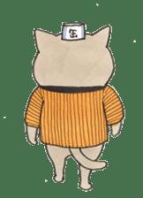 night cat sticker #8955649