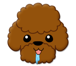 I Love Toy Poodle sticker #8956782