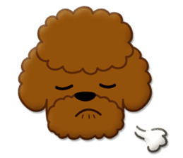 I Love Toy Poodle sticker #8956787