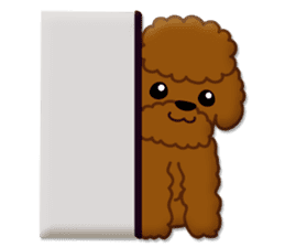 I Love Toy Poodle sticker #8956788