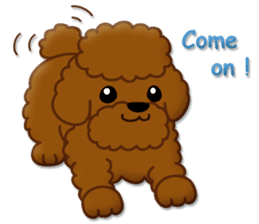 I Love Toy Poodle sticker #8956791