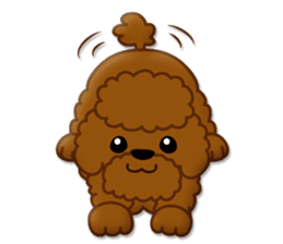 I Love Toy Poodle sticker #8956796
