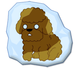 I Love Toy Poodle sticker #8956807