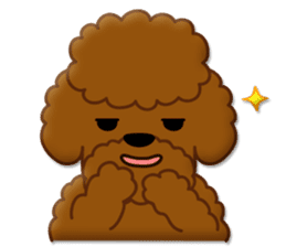 I Love Toy Poodle sticker #8956814