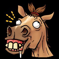 Crazy horse !