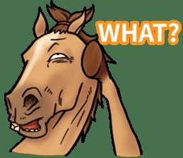 Crazy horse ! sticker #8963536
