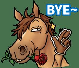 Crazy horse ! sticker #8963540