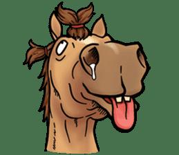 Crazy horse ! sticker #8963544