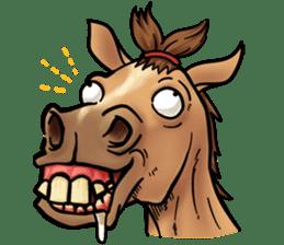 Crazy horse ! sticker #8963548
