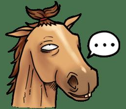 Crazy horse ! sticker #8963549