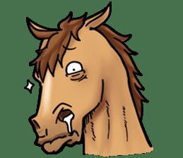 Crazy horse ! sticker #8963553