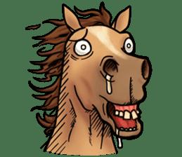 Crazy horse ! sticker #8963556