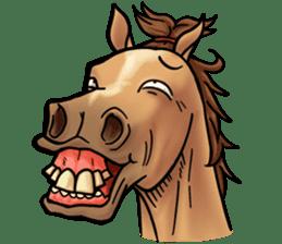 Crazy horse ! sticker #8963558
