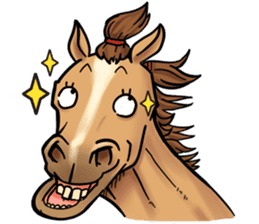 Crazy horse ! sticker #8963559
