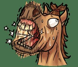 Crazy horse ! sticker #8963564