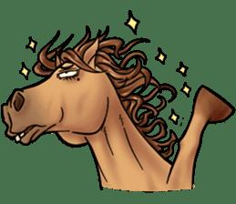 Crazy horse ! sticker #8963567