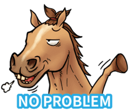 Crazy horse ! sticker #8963569