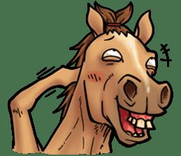 Crazy horse ! sticker #8963570