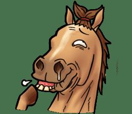 Crazy horse ! sticker #8963572