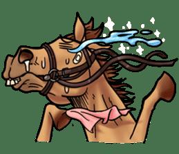 Crazy horse ! sticker #8963575