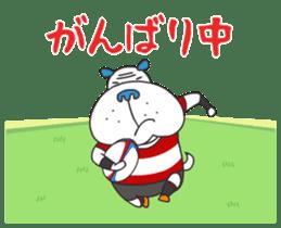 """Nikkan Sports: Blueo"" Stickers 2 sticker #8972981"