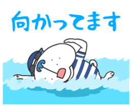 """Nikkan Sports: Blueo"" Stickers 2 sticker #8972986"
