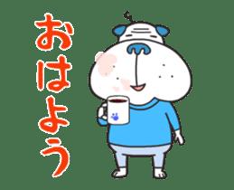 """Nikkan Sports: Blueo"" Stickers 2 sticker #8972988"