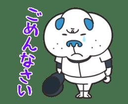"""Nikkan Sports: Blueo"" Stickers 2 sticker #8973014"
