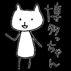 The HAKATA cat