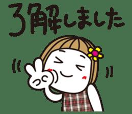 Bangs short girl vol.10 sticker #8978857