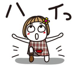 Bangs short girl vol.10 sticker #8978858