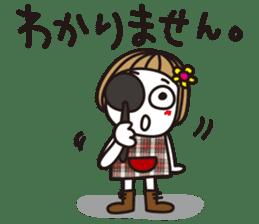 Bangs short girl vol.10 sticker #8978859