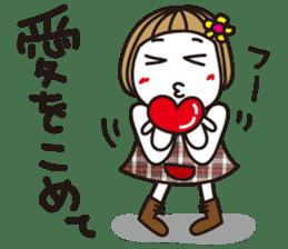 Bangs short girl vol.10 sticker #8978861