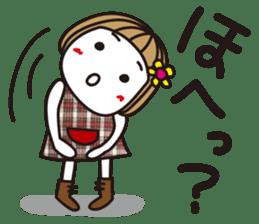 Bangs short girl vol.10 sticker #8978862