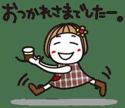Bangs short girl vol.10 sticker #8978863