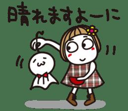 Bangs short girl vol.10 sticker #8978864
