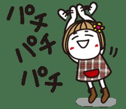 Bangs short girl vol.10 sticker #8978869