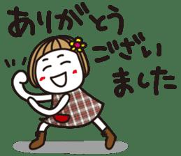 Bangs short girl vol.10 sticker #8978870