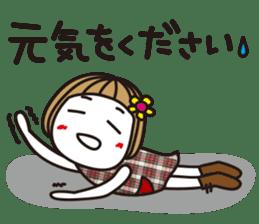 Bangs short girl vol.10 sticker #8978871