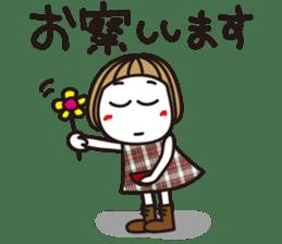 Bangs short girl vol.10 sticker #8978872