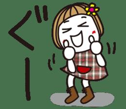 Bangs short girl vol.10 sticker #8978873