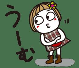 Bangs short girl vol.10 sticker #8978874