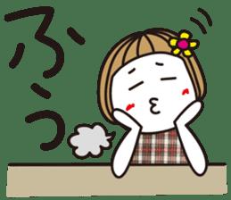 Bangs short girl vol.10 sticker #8978876